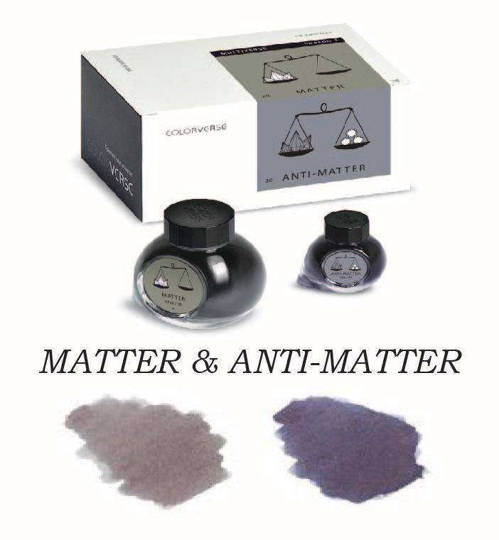 COLORVERSE COLORVERSE BOTTLED INK MATTER & ANTI-MATTER 65ML + 15 ML