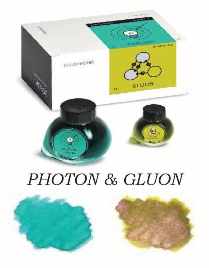 COLORVERSE COLORVERSE PHOTON & GLUON - 65ML + 15ML BOTTLED INK