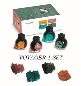 COLORVERSE COLORVERSE LIMITED EDITION VOYAGER 1 SET - 4 15ML BOTTLED INKS