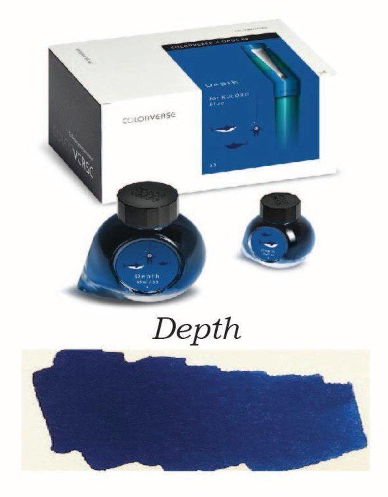 COLORVERSE COLORVERSE BOTTLED INK DEPTH 65ML + 15ML