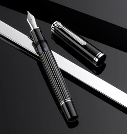 PELIKAN PELIKAN SPECIAL EDITION M815 FOUNTAIN PEN METAL STRIPED