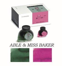 COLORVERSE COLORVERSE BOTTLED INK ABLE & MISS BAKER 65ML + 15ML