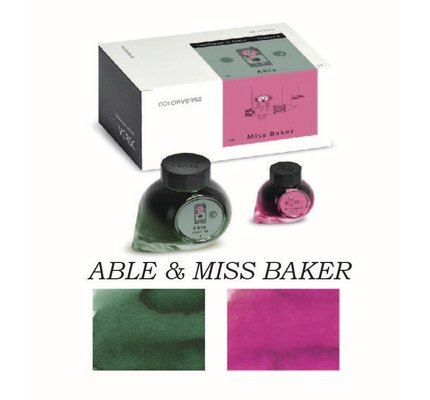 COLORVERSE COLORVERSE NO. 43 & 44 ABLE & MISS BAKE - 65ML + 15ML BOTTLED INK