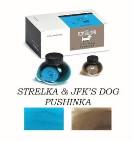 COLORVERSE COLORVERSE NO. 45 & 46 STRELKA & JFK'S DOG PUSHINKA - 65ML + 15ML BOTTLED INK