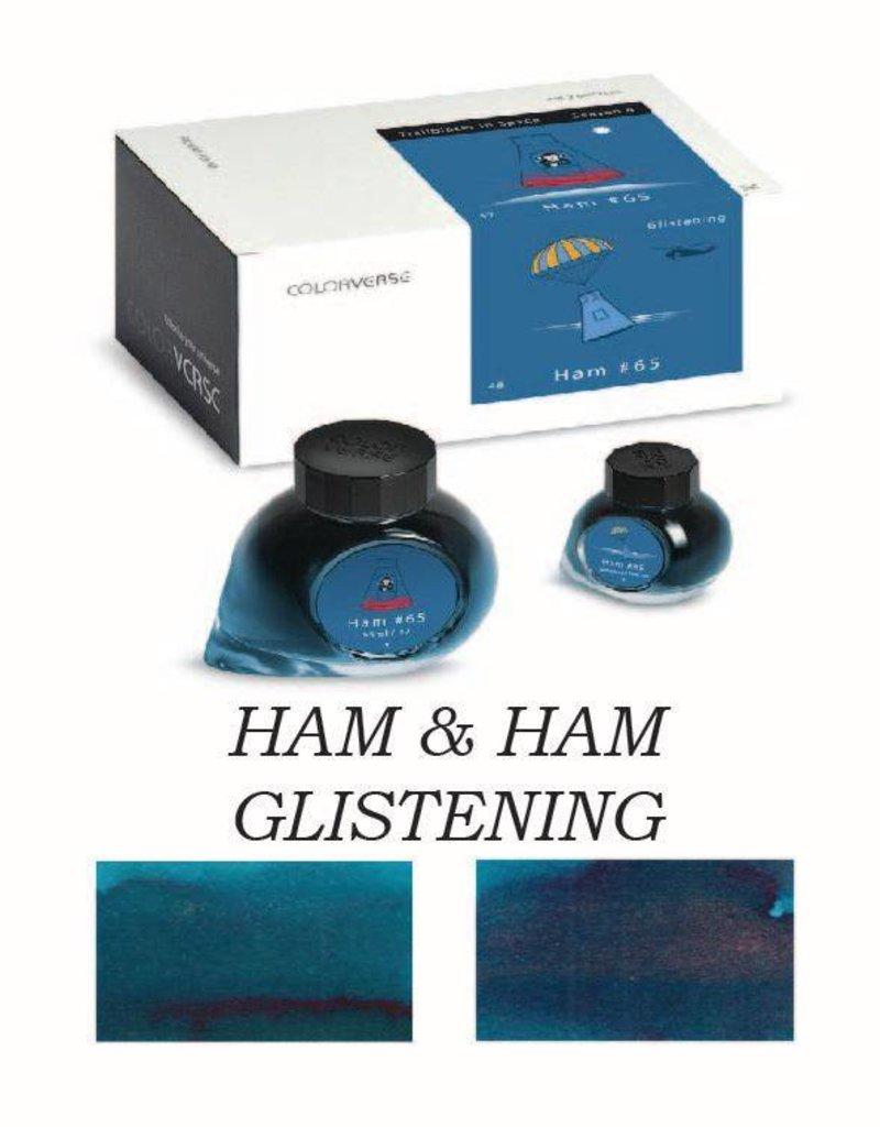 COLORVERSE COLORVERSE HAM &  HAM GLISTENING - 65ML + 15ML BOTTLED INK