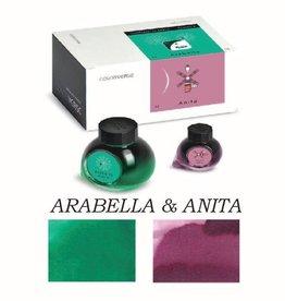 COLORVERSE COLORVERSE BOTTLED INK ARABELLA & ANITA 65ML + 15ML