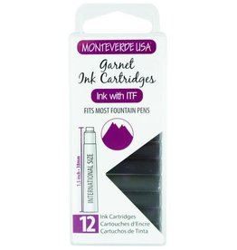 MONTEVERDE MONTEVERDE GARNET (GEMSTONE) - INK CARTRIDGES