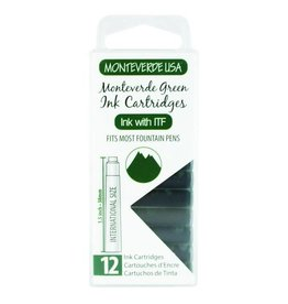 MONTEVERDE MONTEVERDE GREEN - INK CARTRIDGES