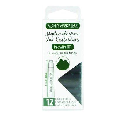 MONTEVERDE MONTEVERDE GREEN - INK CARTRIDGES