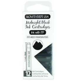 MONTEVERDE MONTEVERDE MIDNIGHT BLACK - INK CARTRIDGES