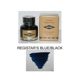 DIAMINE DIAMINE REGISTRARS BLUE/BLACK - 30 ML BOTTLED INK