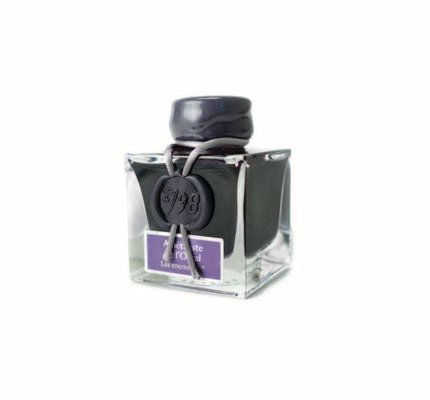 "J. HERBIN J. HERBIN ""1798"" AMETHYSTE DE L'OURAL - 50ML BOTTLED INK"