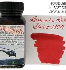 NOODLER'S NOODLER'S BERNANKE RED - 3OZ BOTTLED INK