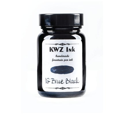 KWZ INK KWZ IRON GALL BOTTLED INK 60ML BLUE BLACK
