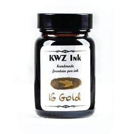 KWZ INK KWZ IRON GALL BOTTLED INK 60ML GOLD