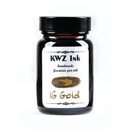 KWZ INK KWZ IRON GALL BOTTLED INK 60ML GOLD
