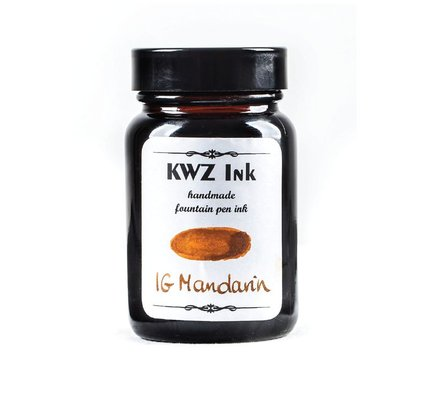 KWZ INK KWZ IRON GALL BOTTLED INK 60ML MANDARIN