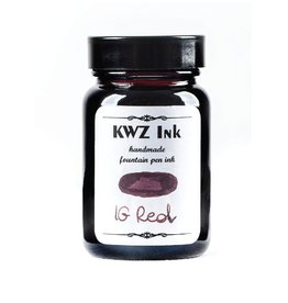 KWZ INK KWZ IRON GALL BOTTLED INK 60ML RED
