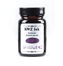 KWZ INK KWZ IRON GALL BOTTLED INK 60ML VIOLET #2