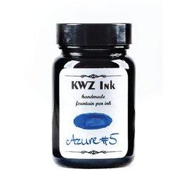 KWZ INK KWZ STANDARD BOTTLED INK 60ML AZURE #5