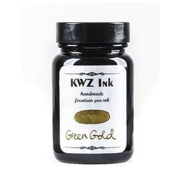 KWZ INK KWZ STANDARD BOTTLED INK 60ML GREEN GOLD