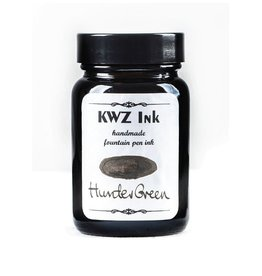 KWZ INK KWZ STANDARD BOTTLED INK 60ML HUNTER GREEN