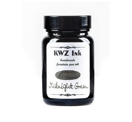 Kwz Ink Kwz Standard Bottled Ink 60ml Midnight Green