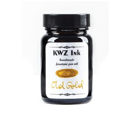 KWZ INK KWZ STANDARD BOTTLED INK 60ML OLD GOLD
