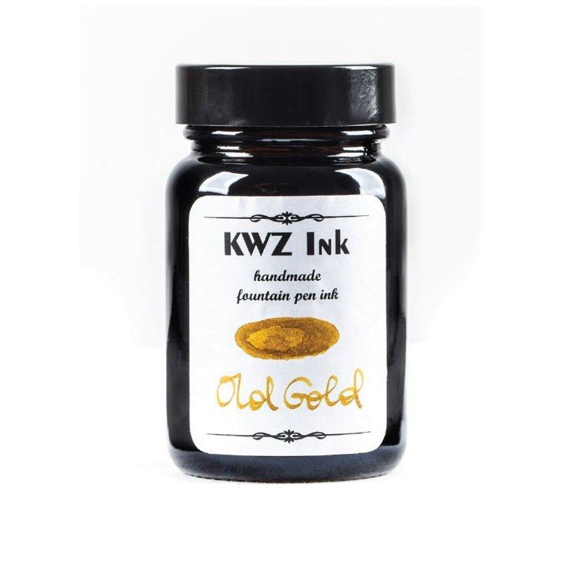 KWZ INK KWZ STANDARD BOTTLED INK 60ML OLD GOLD