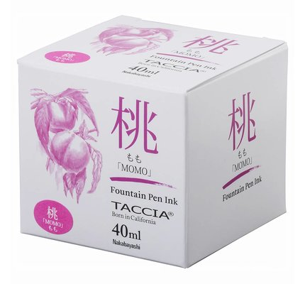 Taccia Taccia Momo Pink 40ml Bottled Ink