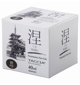 TACCIA TACCIA KURO BLACK 40ML BOTTLED INK