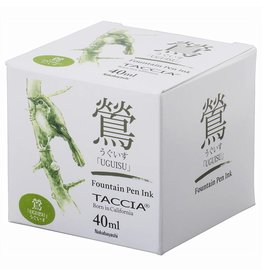 TACCIA TACCIA UGUISU OLIVE GREEN 40ML BOTTLED INK