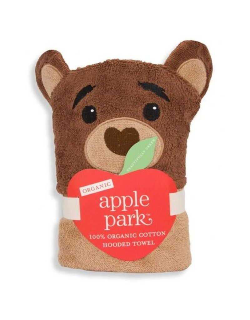 APPLE PARK Cubby Hooded Towel