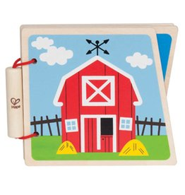 HAPE Farm Wooden Book