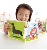 HAPE Farm Wooden Book