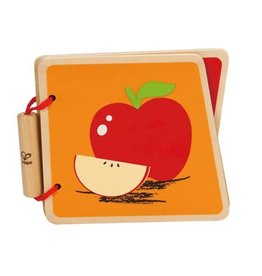 HAPE Fruit Wooden Book