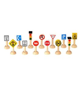 PLAN TOYS Traffic Signs & Lights