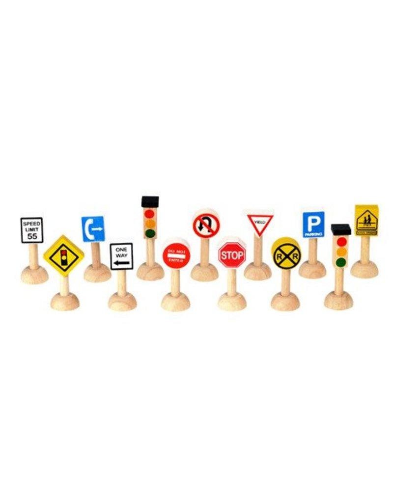 PLAN TOYS Traffic Signs & Lights