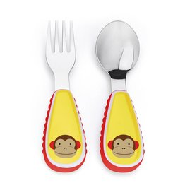 SKIP HOP Zoo Utensil Set