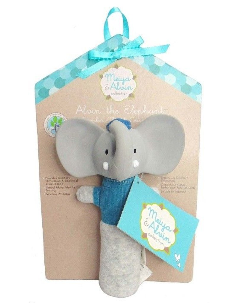 CREATIVE EDUCATION OF CANADA Alvin the Elephant Squeaker Toy