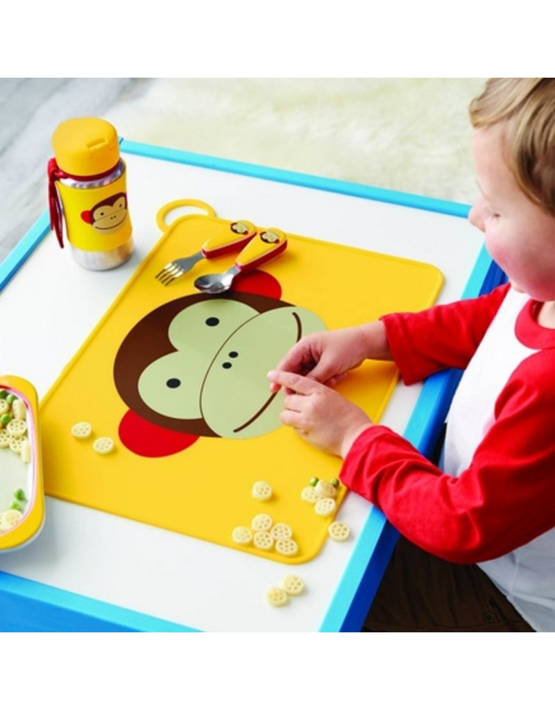 SKIP HOP Zoo Fold & Go Silicone Placemat