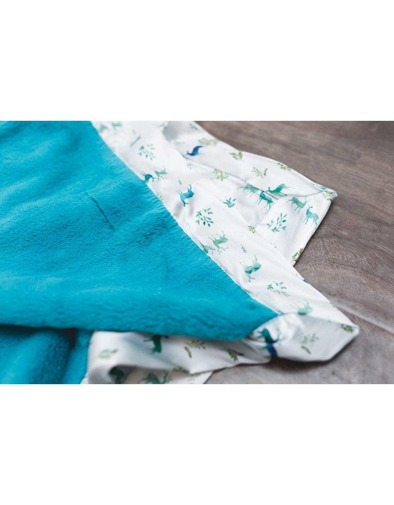 SARANONI Saranoni Satin Back Receiving Blanket