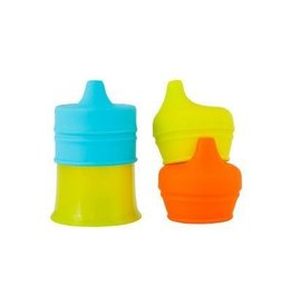 BOON, INC. SNUG Spout Universal Silicone Sippy Lids and Cup