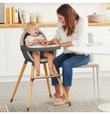 SKIP HOP Tuo Convertible High Chair Charcoal