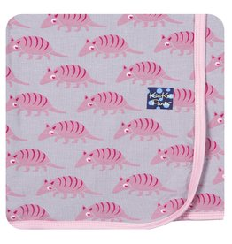 KICKEE PANTS Feather Armadillo Swaddling Blanket