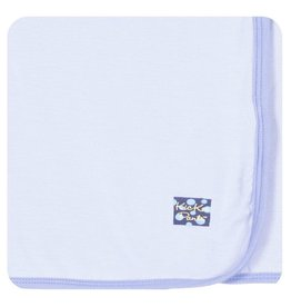 KICKEE PANTS Forget Me Not/Lilac Swaddling Blanket
