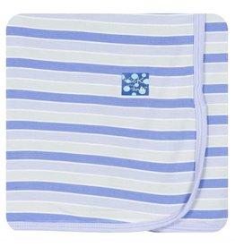 KICKEE PANTS Girl Tropical Stripe Swaddling Blanket