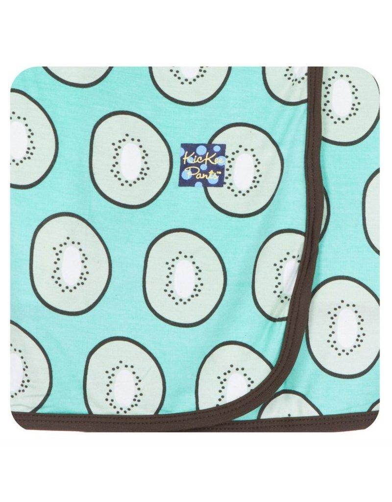 KICKEE PANTS Kiwi Swaddling Blanket