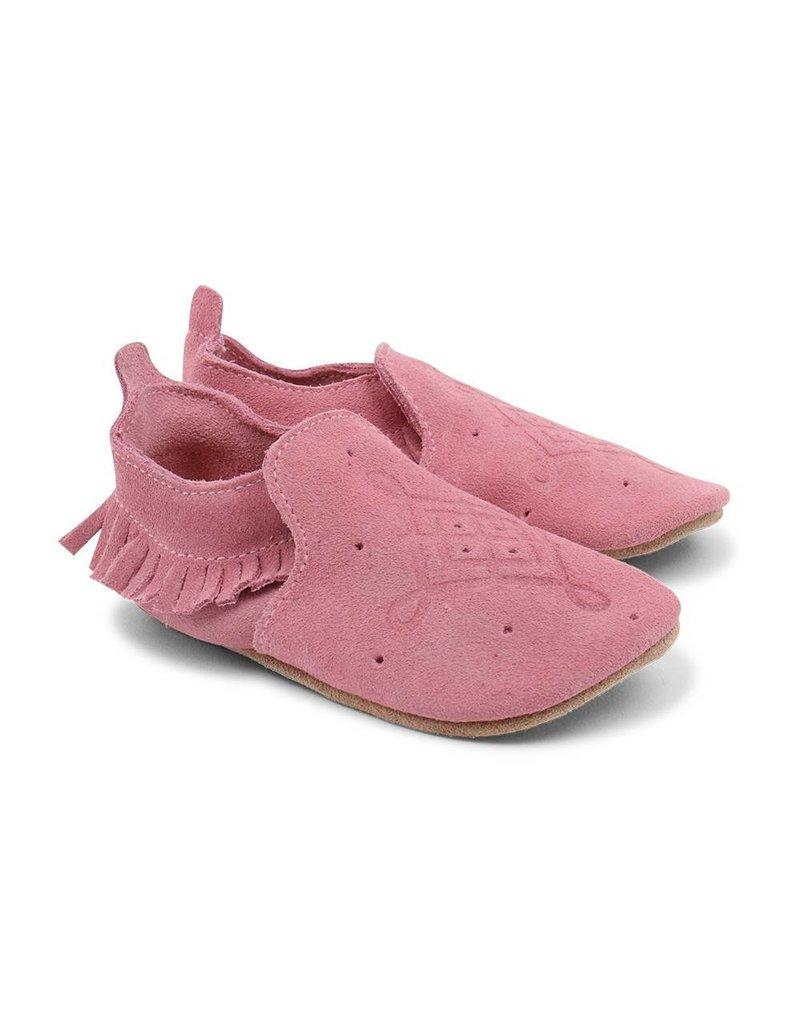 BOBUX Bobux Pink Loafer Moccasin