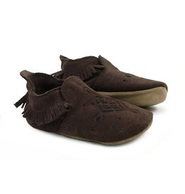 BOBUX Bobux Chocolate Loafer Moccasin